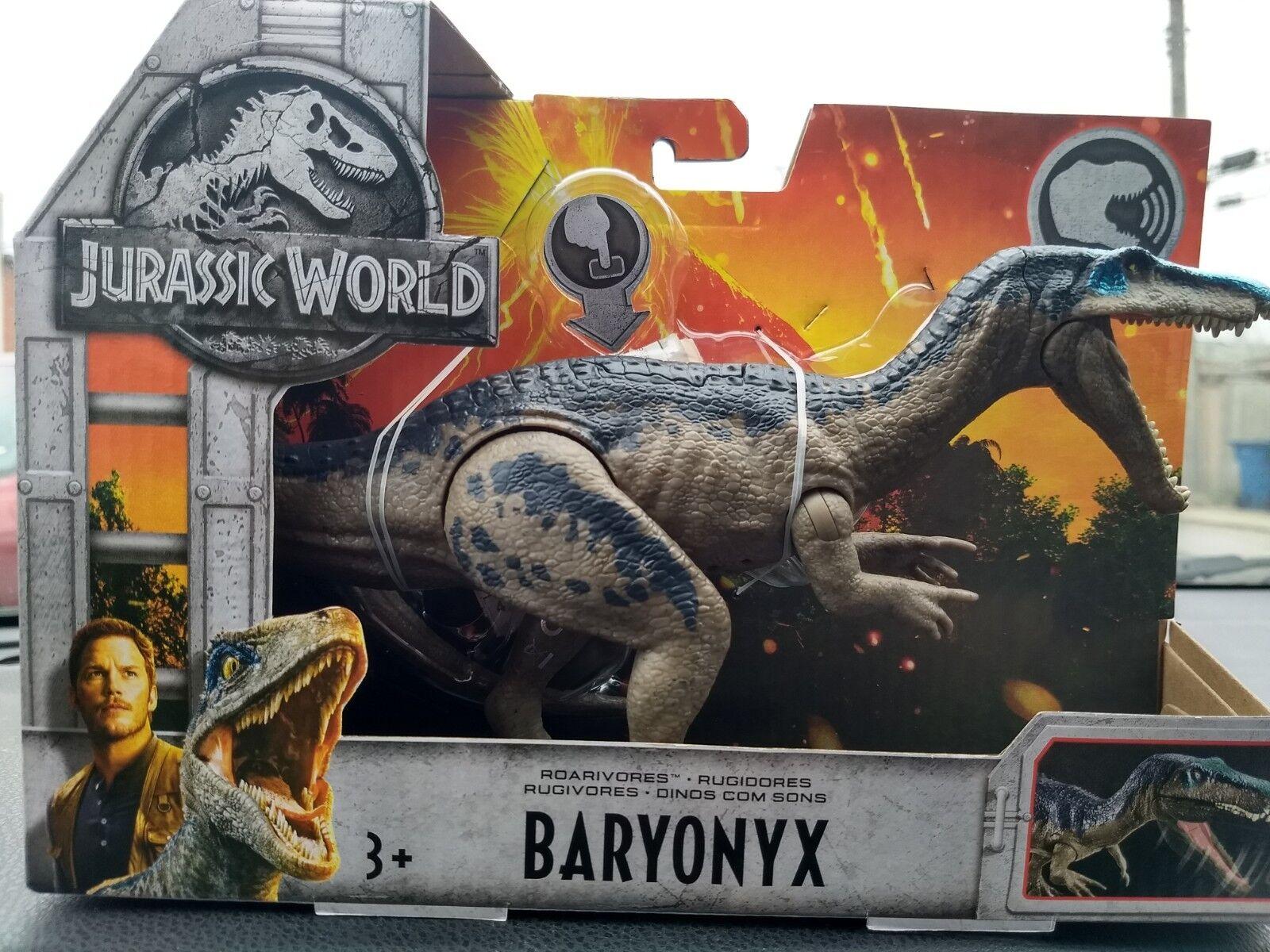 Jurassic World Fallen Kingdom BARYONYX, Roarivore New Mattel toy
