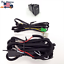 Fog Light H3 12V 30A Wiring Harness Relay Kit ON//OFF LED Switch 2 Plugs Wire
