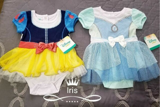 Disney Baby Infant Girl/'s Snow White One Piece Outfit Size 6 to 9 Months