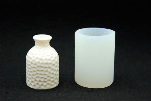 Silicone Mold Sugarcraft Candle Chocolate Plaster Soap Wax Resin Vase#16