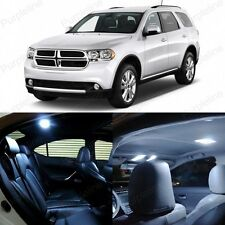 16 x Ultra White LED Interior Light Package Kit For Dodge Durango 2011 - 2014