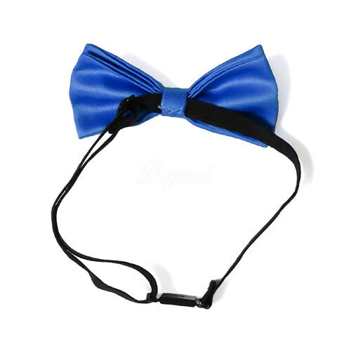 Blue Suspender and Bow Tie Set for Baby Toddler Kids Boys Girls USA Seller
