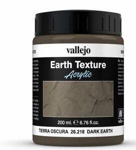 Vallejo-Stone-Textures-200ml-Dark-Earth-26218