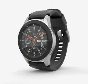 Samsung Galaxy Watch 46mm Silver Unlocked 4G LTE SM-R805U NO BAND