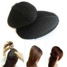 2Pcs  Woman Bumpit Hair Bump Up Bumpits Princess Styling Tools Base Insert G