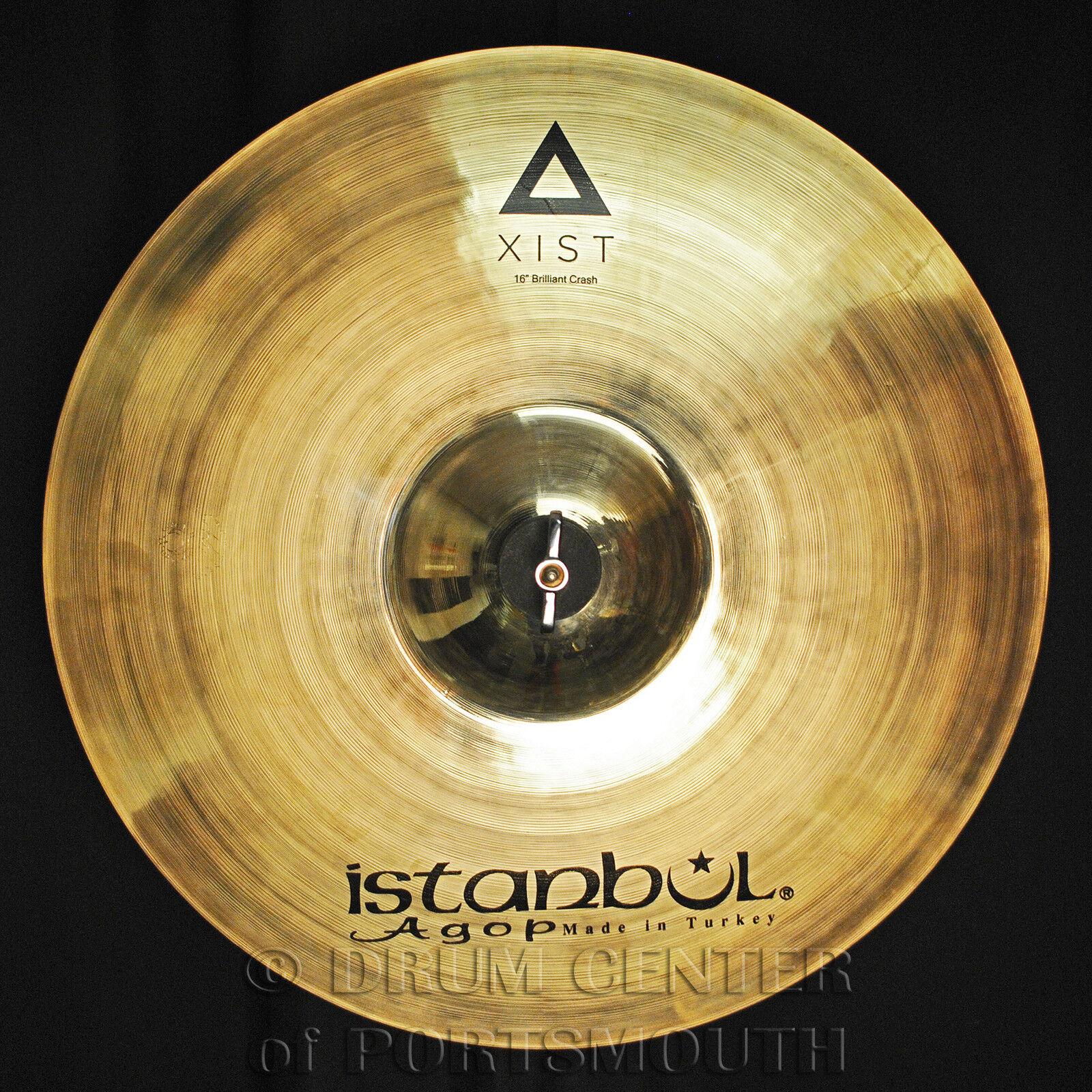 Istanbul Agop Xist Brilliant Crash Cymbal 16  - Video Demo