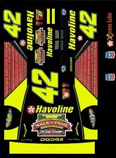 #42 Jamie McMurray Walk of Fame 2003 1/64th HO Scale Slot Car Decals