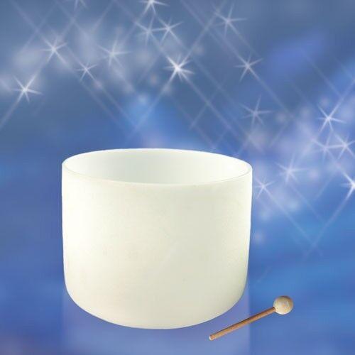 Kristallklangschale, 16 , weiß, 10.4kg