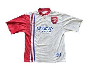 Original Glasgow Rangers Away Shirt 1996/97 (XL Mens)