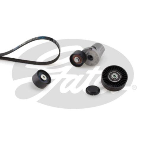 Gates Keilrippenriemensatz Micro-V® Kit K036DPK1698 Spannrolle BMW 1er 3er E90 d
