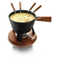 Boska Holland Monaco Collection 10pc Cast Iron Cheese Fondue Pro Set