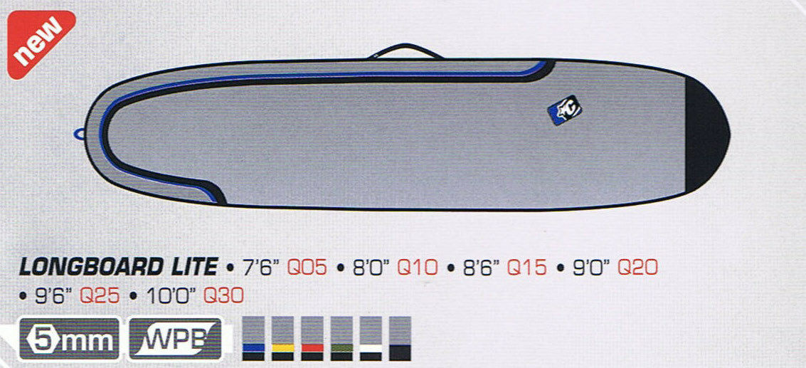 Creatures of Leisure Surfboard Bag - Team Designed Longboard Bag 7'6