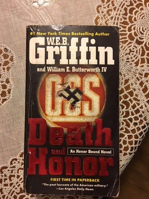 death and honor griffin w e b butterworth william e