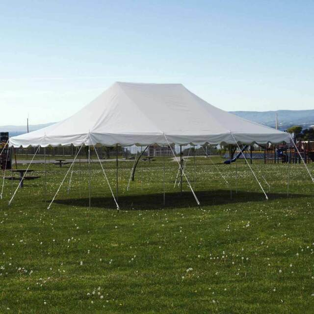 Party Tents For Sale 20x30 >> 20x30 Pole Tent Commercial Waterproof Party Wedding Outdoor White