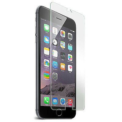 """Premium Real Tempered Glass Screen Protector for Apple iPhone 6 4.7"""" Plus 5.5"""""""