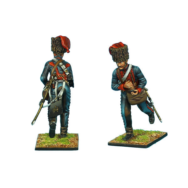 First Legion  NAP0405 French Guard Horse Artillery Gunner with Cartridge