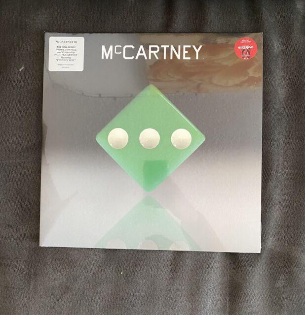 Paul McCartney III 3 Target Exclusive LP Vinyl Green Limited Edition