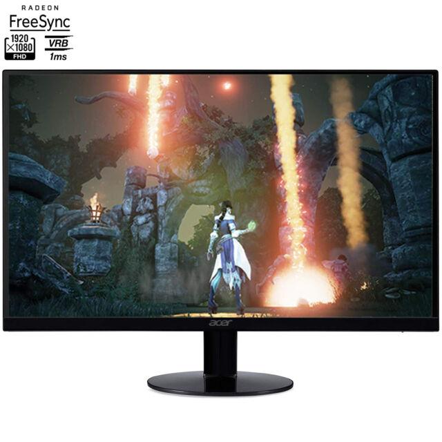 "Acer SB270 Bbix 27"" Full HD Zero Frame Monitor with Radeon Freesync Technology"