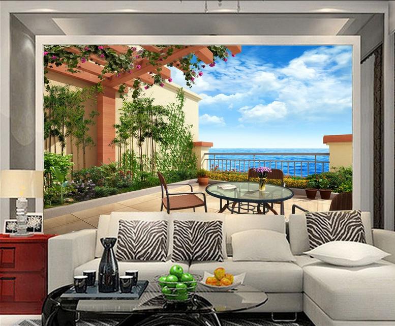 3D Open-Air-Landschaft 743 Tapete Wandgemälde Tapete Tapeten Bild Familie DE