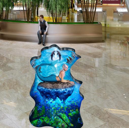 3D Insel  Schönheit 553 Fototapeten Wandbild Fototapete Tapete Familie DE Lemon