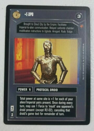 E-3PO Star Wars CCG Cloud City