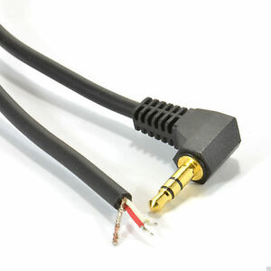 2m-3-5mm-Stereo-Jack-Plug-to-3-Pole-Solder-Bare-Wire-End-Gold-008169
