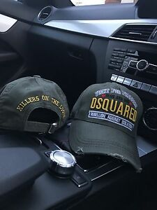 7cb3d1914bc Image is loading DSquared2-DSquared-Cap-034-FIGHT-FOR-FREEDOM-034-
