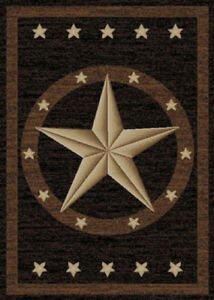 Details about Western Star Area Rug Various Sizes and Shapes with FREE  Shipping