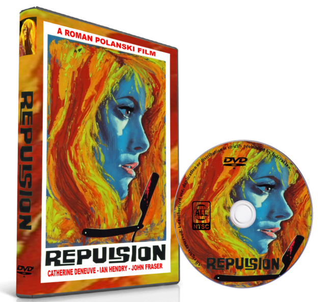 REPULSION 1965 - ROMAN POLANSKI  /  CATHERINE DENEUVE