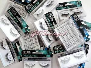 dad31dee392 PICK ANY!) 4 ARDELL LASHES Invisibands Natural False Fake Eyelash ...