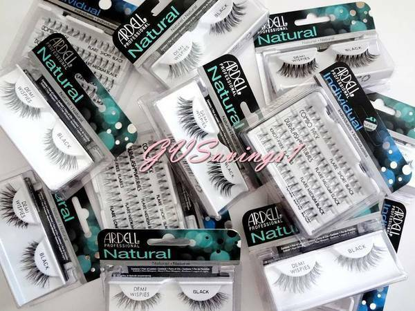 (PICK ANY!) 4 ARDELL LASHES Invisibands Natural False Fake Eyelash Fashion Lot