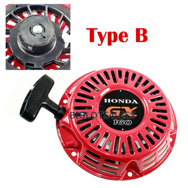 Starter Recoil Pull Start Assembly For Honda GX120 GX160 GX200 5.5 6.5hp Engine