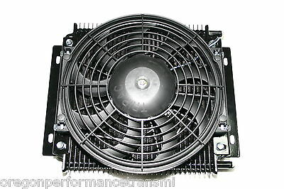 Hayden Transmission fluid Cooler and Fan The Dawg 526 RV Tow Towing HD Off-Road