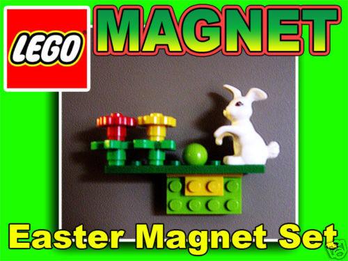 LEGO Oster Hase Magnet Set 4527450 eastern