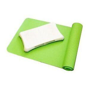 Tapis de yoga et de la peau de silicium bundle planche wii fit  </span>