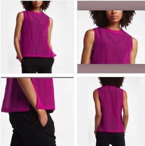 mujer Tech para Nike Hypermesh Berry Tank Sportswear Small True zxgOU