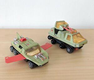MATCHBOX-ADVENTURE-2000-crociato-amp-VOLO-Hunter-DIE-CAST-veicoli-1977-Lesney