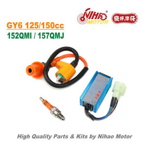 25-125cc-150cc-Racing-CDI-Spark-Coil-Performance-Kits-GY6-Parts-Chinese-Scooter