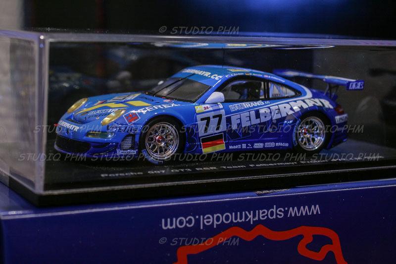 PORSCHE 911 GT3 RSR N° 77 TEAM FELBERMAYR ProugeON  24H du MANS 2008 Spark 1 43
