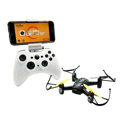 COBRA RC TOYS 2.4GHZ DRONE - HD CAMERA, WIFI, FPV AND ALTITUDE HOLD, Android/iOS