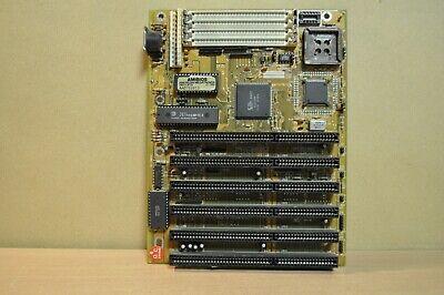 386 Motherboard 4 X 72 Pin Simm S 6 X Isa Slots Am386 Sx 40 Processor Rev 2 1 Ebay