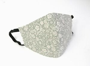 Handmade Fabric Face Mask With Hepa Filter 100 Cotton Reusable Washable Uk Ebay