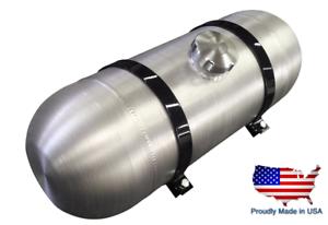 OFF ROAD 1//4NPT RAT ROD 6 Gallons 8x30 Center Fill Spun Aluminum Gas Tank