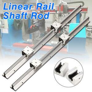 1-Set-SBR12-600mm-12MM-CNC-Linear-Rail-Shaft-Slide-Rod-2-SBR12UU-Bearing-Block