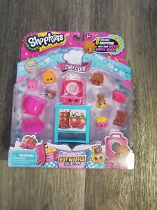 Shopkins-Limited-Season-6-Chef-Club-HOT-WAFFLE-COLLECTION-8-Exclusive-NEW