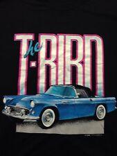 Vintage Thunderbird T-bird Hotrod Car Ford Automobile Soft 2xl T Shirt Cruisin