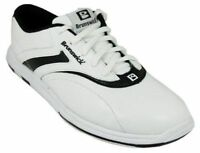 Womens Brunswick Silk White/black Bowling Shoes Size 8.5 9.5 11