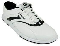 Wide Womens Brunswick Silk White/black Bowling Shoes Size 8.5 9 9.5 11