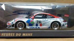 Wow Extrêmement Rare Porsche 997 911 Gt3 Rsr # 76 Matmut 24h Lemans 2008 1:43 Spark