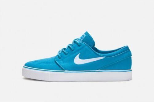 Nike ZOOM STEFAN JANOSKI Neo Turquoise White 333824-410 Skate Price reduction Men's Shoes Casual wild